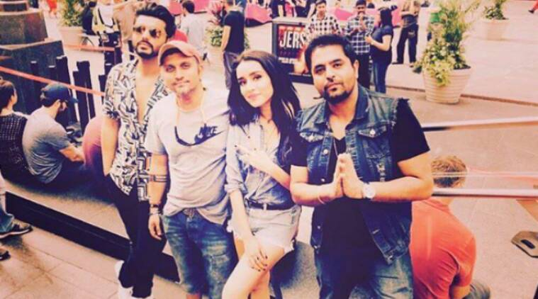 half girlfriend, half girlfriend on sets, mohit suri, half girlfriend actors, arjun kapoor, shraddha kapoor, half girlfriend film
