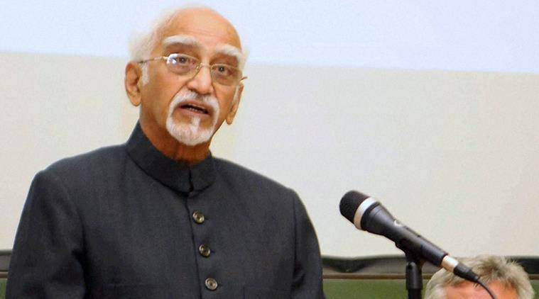 Hamid Ansari, Vice Presidential polls, BJP, Rajya Sabha TV