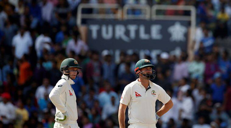 India vs Australia, Ind vs Aus, Aus vs Ind, Shaun Marsh, Peter Handscomb, Marsh fifty, Handscomb fifty, Cheteshwar Pujara, third Test, sports news, sports, cricket news, Cricket