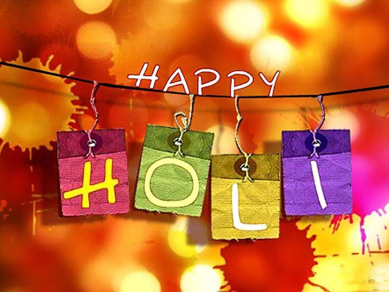 Happy holi sportstars wish their fans and followers the indian holi holi day holi festival holi 2017 holi festival india holi m4hsunfo