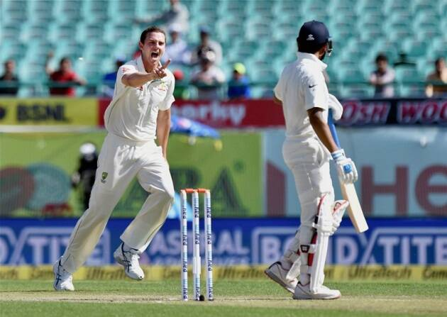 Rahane, Pujara, Lyon, Nathan Lyon, Cheteshwar Pujara, KL Rahul, Cummins, Smith, India vs Australia, Ind vs Aus, India vs Australia 4th Test, India vs Australia 4th Test photos, Cricket photos, Cricket news, Cricket, Indian express