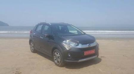 Honda WR-V, Honda WRV, Honda launch, Honda WRV launch, Honda new car, Honda new crossover car, Honda launch news, Honda latest news, latest auto news, latest auto launches, indian express