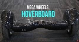 Mega Wheels Hoverboard 10-inch: Watch How To Ride This