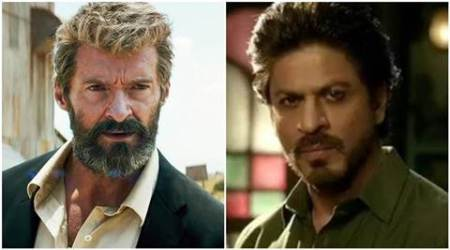 logan, logan trailer, hugh jackman, shah rukh khan, wolverine, hugh jackman wolverine, shah rukh khan hugh jackman, indian express news, entertainment news
