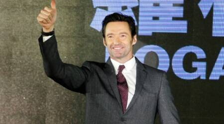 hugh jackman, hugh jackman films, logan, wolverine, hugh jackman logan, hugh jackman wolverine, logan wolverine, logan film, hugh jackman news, logan pronotions, hugh jackman wolverine logan, hollywood news, entertainment updates, indian express, indian express news, indian express entertainment