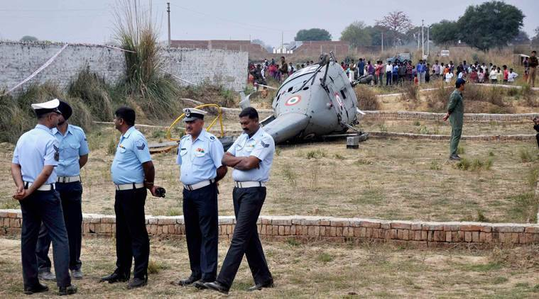 IAF figher jet crashes in Barmer village, pilots eject safely