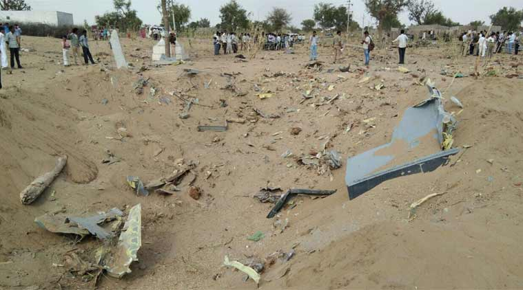 Barmer, IAF fighter jet crash, IAF crash, Fighter jet crash, fighter jet crash Barmer, Rajasthan fighter jet, Shivkar village crash, fighter jet Barmer, fighter jet pilots, pilots safe, Barmer pilots, India news