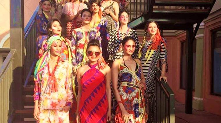 ibfw, ibfw 2017, ibfw anupamaa dayal, anupamaa dayal, anupamaa dayal fashion, anupamaa dayal ibfw opening collection, indian express, fashion, lifestyle, indian express news