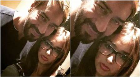 Ileana D'Cruz shares picture with Baadshaho co-star Ajay Devgn, calls the film 'incredibly special'
