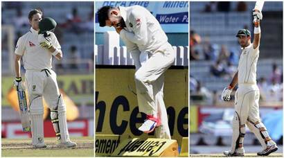 India vs Australia: Steve Smith, Glenn Maxwell give visitors ascendancy on Day 1; Virat Kohli hurts shoulder