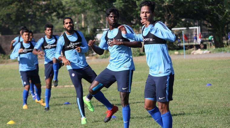 india, indian national team, indian football team, india vs myanmar, india vs myanmar asian cup qualifier, afc asian cup qualifier, football news, sports news, indian express