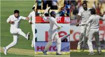 India vs Australia, Ind vs Aus, India vs Australia photos, India vs Australia 4th Test, Ind vs Aus 4th Test photos, Ravindra Jadeja, jadeja, Wade, Steve Smith, Smith, Maxwell, Cricket photos, Cricket, Indian Express