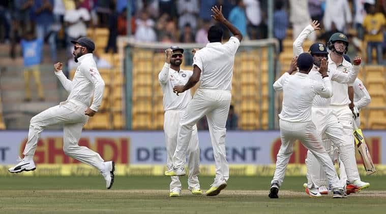 India vs Australia, ind vs Aus, india vs Australia 2nd Test, Ind vs Aus Test, Virat Kohli, kohli, Steve Smith, Smith, Ashwin, jadeja, India vs Australia Bangalore test, Ind vs Aus Bangalore test, Cricket news, Cricket