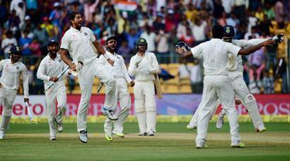 India vs Australia: R Ashwin, Cheteshwar Pujara fashion 75-run win for the hosts