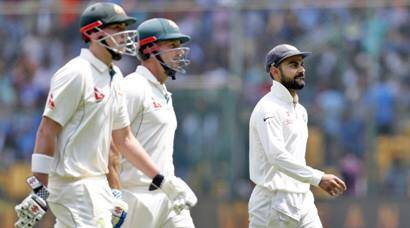 Australia take crucial lead over India on Day 2 in Bangalore