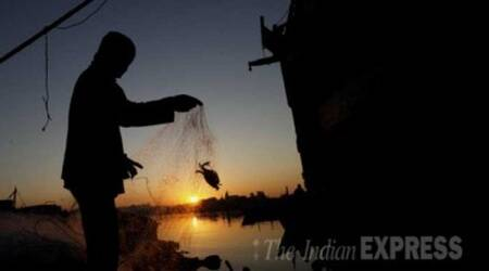 pakistan, indian fishermen, pak releases indians, karachi, indian express