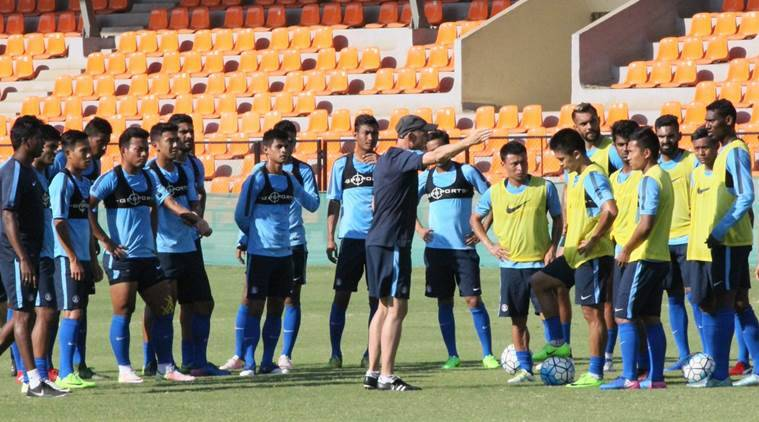 All India Football Federation, AIFF, AFC Championship, Kyrgyzstan, Football Sports Development Limited, AFC Asian Cup Qualifier, Champions Cup, sports news, football news, indian express