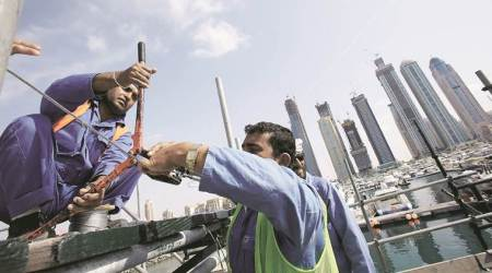 emigration workers, indians in gulf countries, emigrant indian workers, indian express