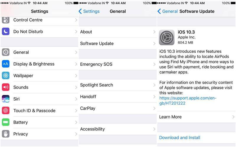 Apple, iOS 10.3, iPhone, Apple iOS 10.3 update, iOS 10.3 how to install, how to download iOS 10.3, macOS 10.12.4, watchOS 3.2 and tvOS 10.2, iOS 10.3 new features, watchOs 3.2 features, watchOs 3.2 how to download, Apple Watch, Apple TV, gadgets, smartphones, technology, technology news