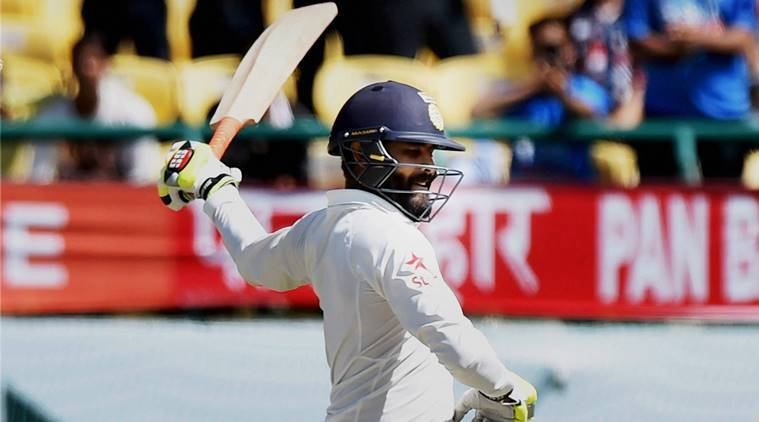 ravindra jadeja, jadeja, india vs australia, ind vs aus, india vs australia test, india win, cricket news, cricket, indian express