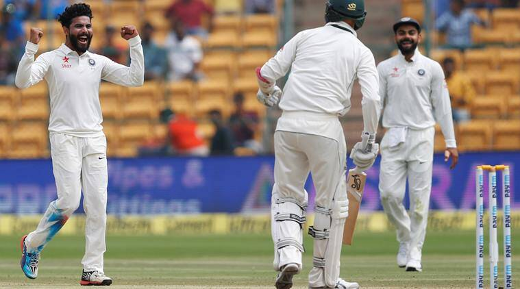 Ravindra Jadeja, Jadeja, jadeja wickets, India vs Australia, Ind vs Aus, india vs Australia 2017, India vs Australia second test, Ind vs Aus 2nd Test, Cricket news, Cricket
