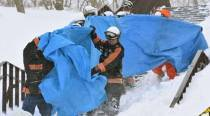 Japan: Eight students presumed dead in ski resort avalanche