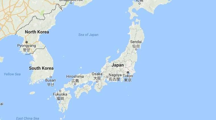 Japan Launches Latest North Korea Spy Satellite The Indian Express - Japan map satellite
