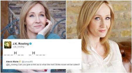 jk rowling, jk rowling twitter, jk rowling strike novel, jk rowling book, jk rowling strike novel, jk rowling lethal white, jk rowling book name, indian express, indian express news