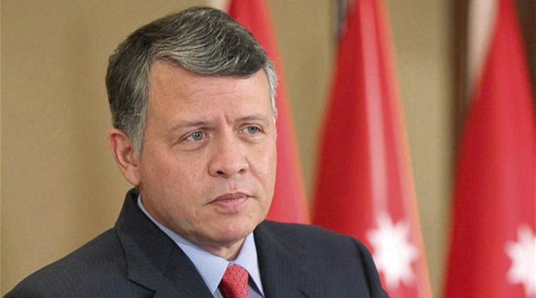 Jordan King Abdullah II, Palestinian leader Mahmud Abbas, West Bank city of Ramallah, India news, national news, Latest news