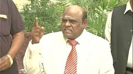 Justice C S Karnan, Justice C S Karnan contempt of court case, Supreme Court case of contempt, Attorney General Mukul Rohatgi, indian express news
