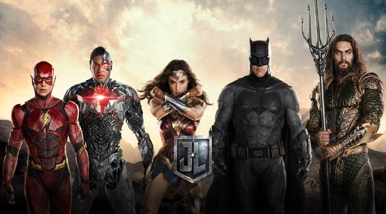 Justice League, Batman, Wonder Woman, Aquaman, Cyborg, The Flash