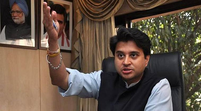Jyotiraditya Scindia, congress, congress elections, congress candidates, elections 2019, general elections, 2019 elections congress, indian express news, india news