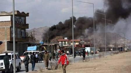 kabul, kabul suicde attack, kabul sucide bombing, kabul attack, kabul taliban attack, indian express news, world news