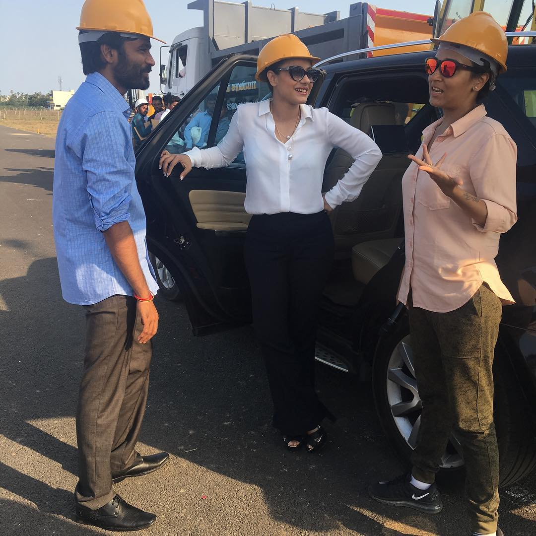 Kajol wraps shooting of VIP 2