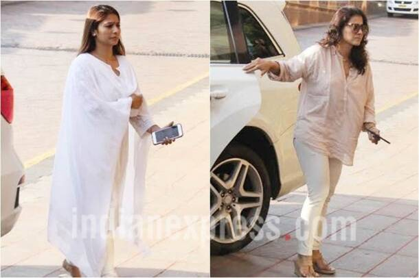 kajol, tanisha, aishwarya rai father prayer meet
