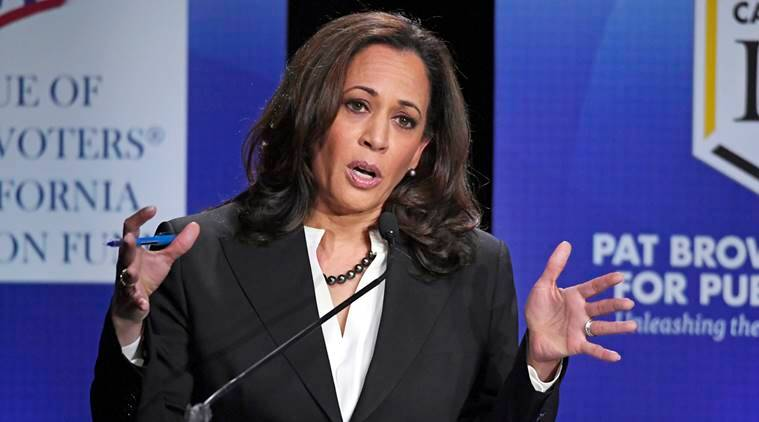 us news, us presidential election, us presidential election 2020, kamala harris, joe biden, us democrats, democrat candidates, iowa news, world news, indian express