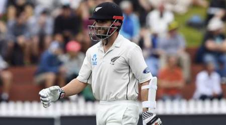 New Zealand vs South Africa, NZ vs SA, SA vs NZ, Kane Williamson, Kane Williamson hundred, Kane Williamson batting, sports news, sports, Cricket, Indian Express