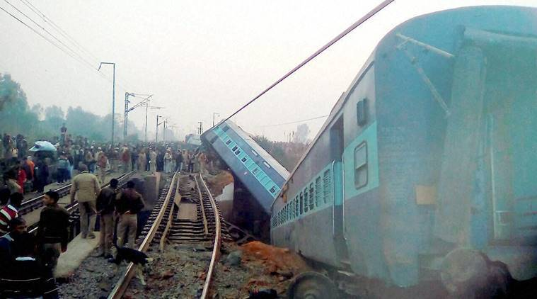 kanpur train accident, kanpur train accident nia investigation, kanpur derailment nia, kanpur isi link, india news, indian express news