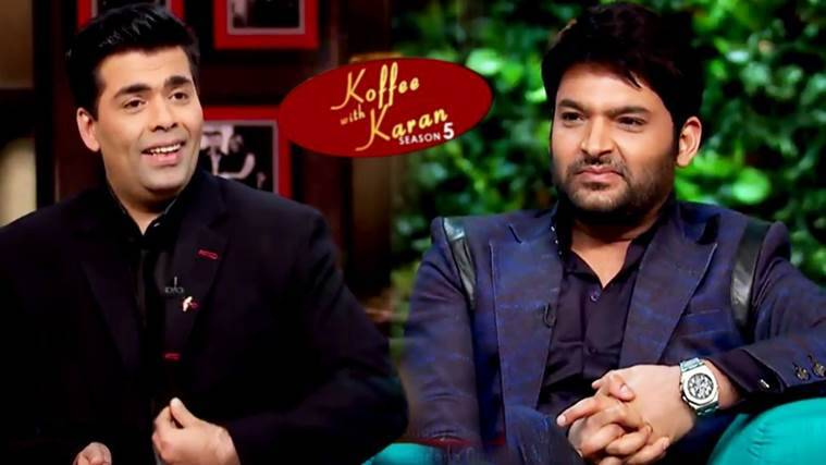 Koffee With Karan Season 5 Kapil Sharma Has A Huge Crush On Deepika Padukone And His Other Confessions Watch Video Entertainment News The Indian Express