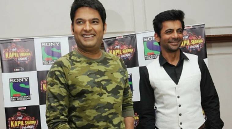 kapil sharma, sunil grover, kapil sharma sunil grover, kapil sharma firangi trailer, firangi trailer launch, sunil grover kapil sharma controversy, kapil sharma sunil grover controversy, firangi trailer video, kapil sharma show, sunil grover shows, kapil sharma sunil grover fight
