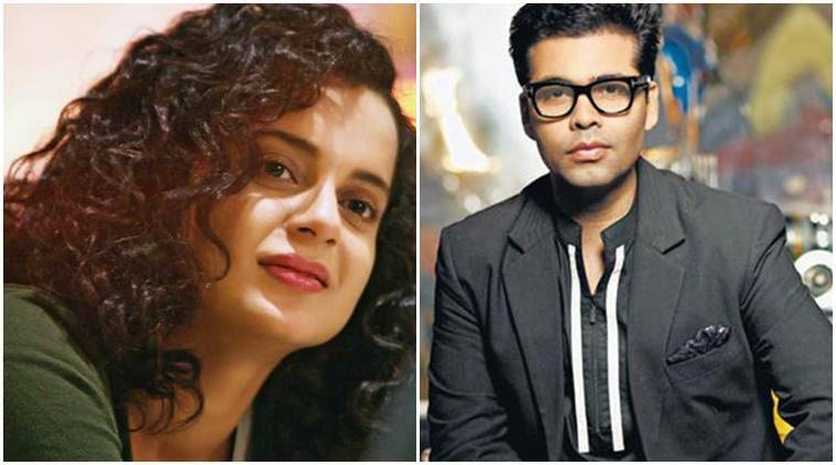 Karan Johar, Karan Johar news, Karan Johar Kangana Ranaut, Kangana Ranaut karan johar, nepotism, Karan Johar nepotism, nepotism Karan Johar, Kangana Ranaut nepotism, Karan Kangana, Kangana karan, karan Kangana nepotism, nepotism Kangana, karan news, koffee with karan, nepotism, bollywood nepostism, nepotism bollywood, Kangana nepotism, entertainment news, indian express, indian express news