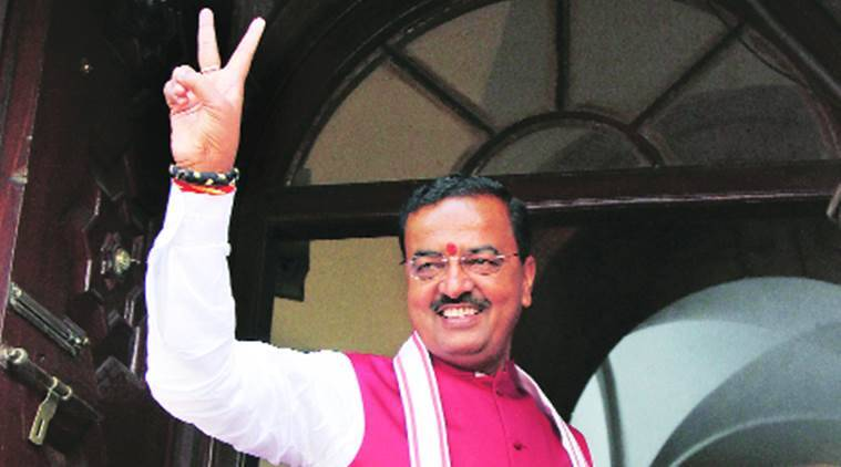 Keshav Prasad Maurya, Keshav Prasad Maurya admitted in hospital, UP BJP chief Keshav Prasad Maurya, Keshav Prasad Maurya in Ram Manohar Lohia Hospital, BJP UP, indian express news