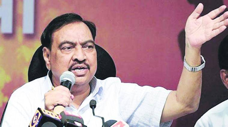 BJP leader Eknath Khadse, FIR against  BJP leader Eknath Khadse, BJP leader graft case, Pune BJP graft case, BJP leader Eknath Khadse graft case, Anti-Corruption Bureau, indian express news