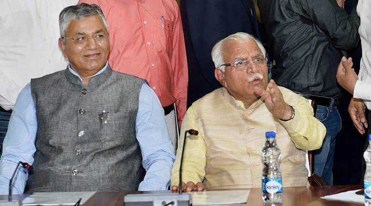 Northern Zonal Council, SYL canal, Sutlej Yamuna link canal, Haryana Punjab Dialogue, Rajnath Singh, Manhorlal Khattar, Indian express news, India news, Latest news