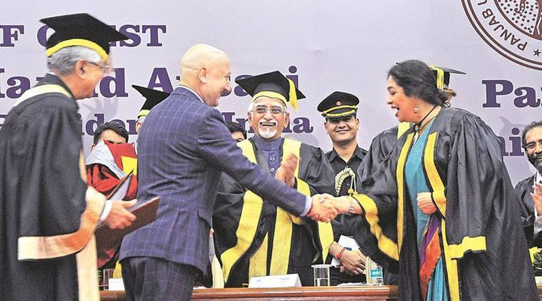 hamid ansari, hamid ansari on universities, vp hamid ansari universities, vice president, Panjab university, university freedom, hamid ansari speech, india news, indian express news