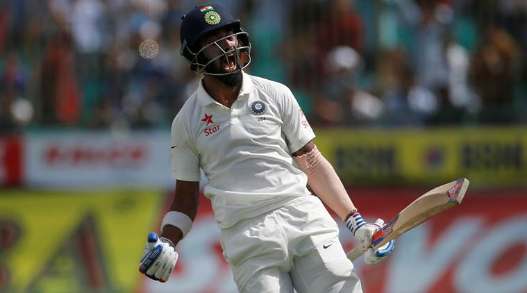 KL Rahul, KL Rahul half century, Ajinkya Rahane, India vs Australia, Umesh Yadav, Ind vs Aus, Aus vs Ind, sports news, sport, cricket news, Cricket, Indian Express
