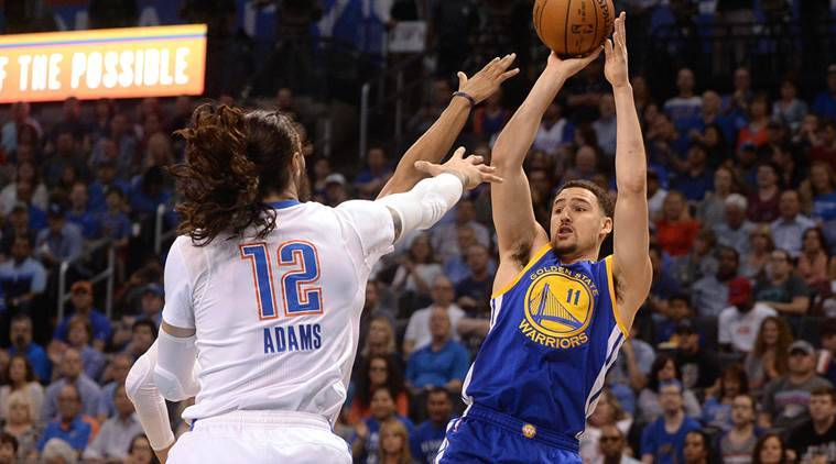 Klay Thompson, Golden State Warriors, Oklahoma City Thunder, Orlando, Kent Bazemore, Gordon Hayward, Jazz, NBA scores, sports news, Basketball