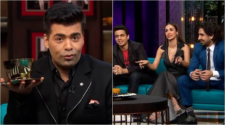 koffee with karan, koffee awards, koffee awards karan johar, karan johar favourite episode koffee, neha dhupia koffee awards, malaika arora koffee awards, ayan mukerji koffee awards, koffee awards judges,