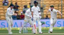India vs Australia 2nd Test, Ind vs Aus 2nd Test, India vs Australia 2017, Ind vs Aus 2017, Virat Kohli, Kohli, Nathan Lyon, Lyon, Pujara, Steve O'Keefe, India vs Australia photos, Kohli photos, Cricket photos, cricket