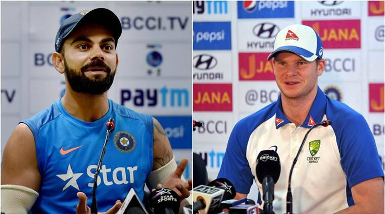 india vs australia 3rd test, ind vs aus 3rd test, virat kohli steve smith, virat kohlio, steve smith, kohli, smith. kohli smoith, india vs australia ranchi, ind vs aus ranchi, india vs australia referee, Richie Richardson, cricket news, cricket